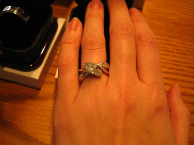 My ring... top view!