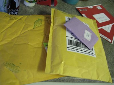 packages and netflix in the mail!