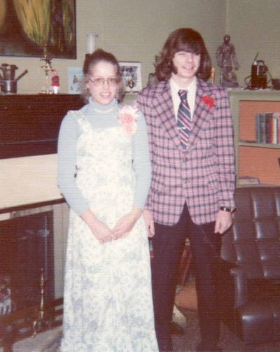 1976 Sara and Rick prom