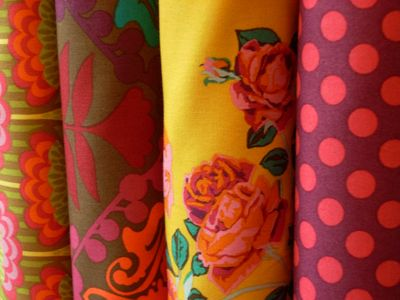 fabrics at Sew to Speak